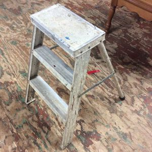 Small Aluminum Step Ladder for Sale in Bellingham, MA