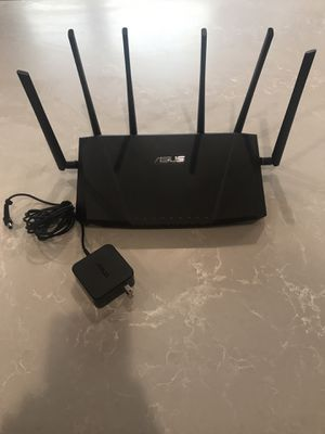 Asus Tri-Band Gigabit Wifi router for Sale in Los Angeles, CA