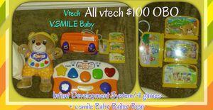 Vtech V.Smile Learning System games Plus accessories for Sale in Belington, WV
