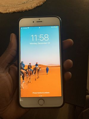 IPhone 6s Plus factory unlocked for Sale in Melrose Park, IL
