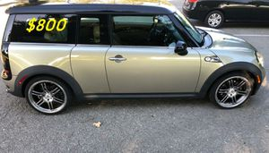 Price$8OO For Sale Urgent!2009 MINI Cooper Clubman S,Clean title,Works and drives excellently for Sale in Grand Rapids, MI