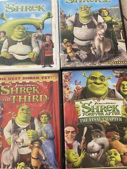 Shrek DVDs 1-4 for Sale in Phoenix,  AZ
