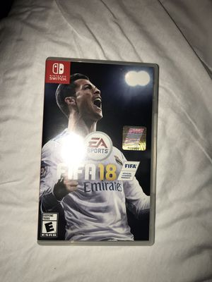 Nintendo Switch Fifa 18 for Sale in Chicago, IL