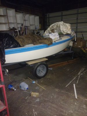 14 ft vagabond sailboat for Sale in West Covina, CA