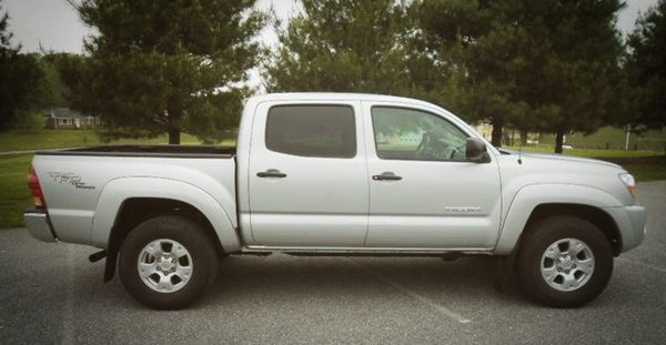 superior unreal Toyota tacoma Double Cab 4WD 2007 driver vanity