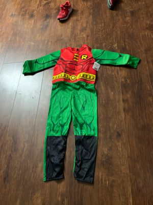 Robin costume small boy for Sale in Fort Worth, TX
