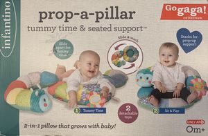 Infantino Prop-A-Pillar Tummy Time & Seated Support for Sale in Missouri City, TX
