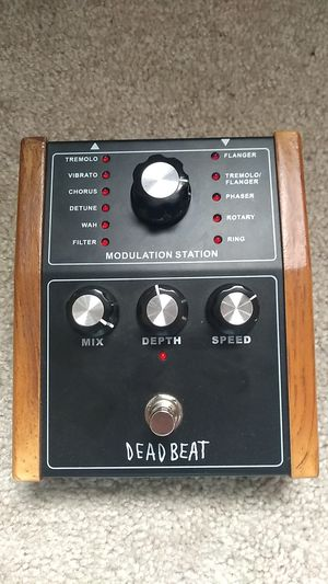 Modulation Station Guitar Pedal for Sale in Lewisburg, PA