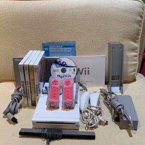Nintendo Wii + Wii Sports Resort + 4 Wii Games for Sale in Wynnewood, PA