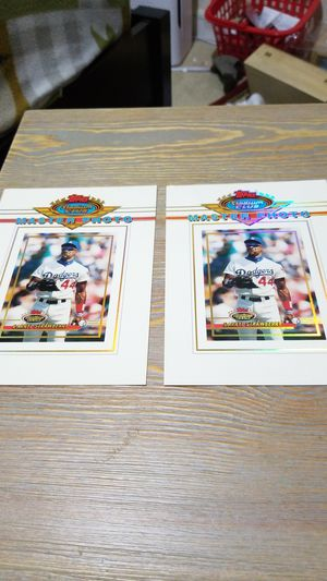 Baseball card- 2 darryl strawberry master photo for Sale in West Stayton, OR