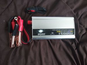 Power inverter 1500 Watts( New in packing) for Sale in Pompano Beach, FL