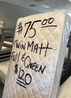 Sealed in Plastic menifee sun city Perris Mattress sale next to Winco! for Sale in Menifee, CA