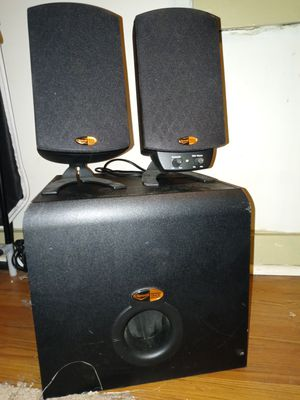 Klipsch thx subwoofer and midrange for Sale in Cleveland, TN