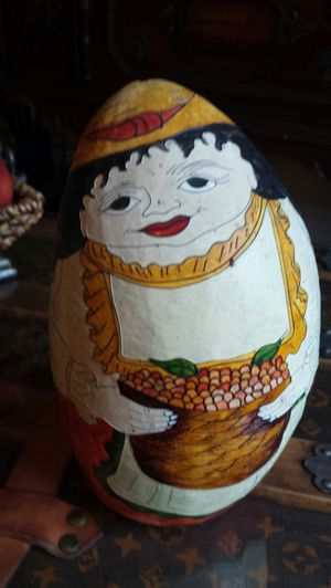 Painted gourd woman for Sale in Vancouver, WA