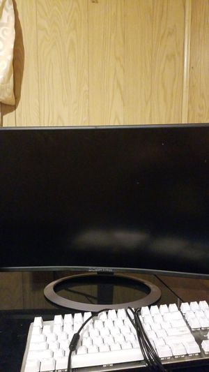 Specter 24 inch curved monitor for Sale in Phoenix, AZ