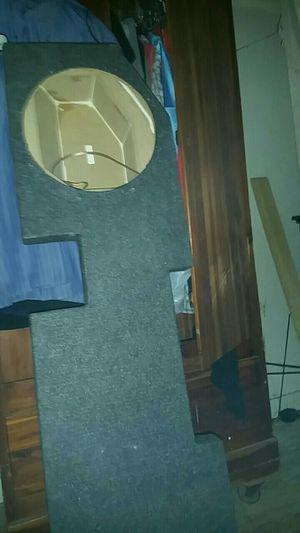 Speaker box fits 2 12 inch for truck for Sale in Ballinger, TX