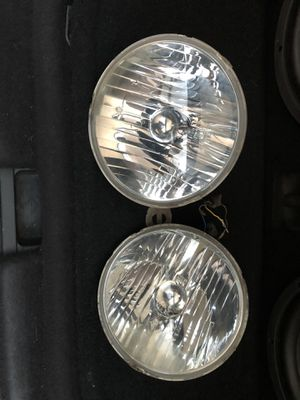 Stock headlight housing and led bulb for Jeep jk for Sale in Norwalk, CA