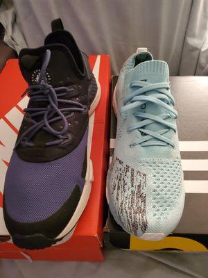 2 for 1 mens Nike Air Huarache DRIFT and Adidas adizero Prime LTD both a size 12 for Sale in Phoenix, AZ