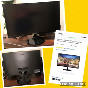 """$100 Samsung 24"""" LED Curved Monitor for Sale in Phoenix, AZ"""