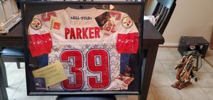 Signed Willie Parker Pittsburgh Steelers Probowl jersey for Sale in Forest, VA