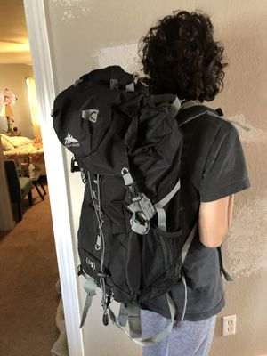 Back pack for small to medium person bag size is 35 for Sale in Tulsa, OK