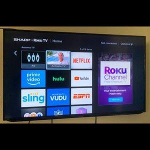 """50"""" Sharp Roku TV for Sale in Fresno, CA"""
