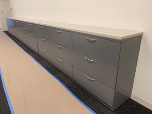7 File cabinets free top for Sale in Houston, TX