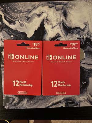 Nintendo Online One Year for Sale in Anaheim, CA