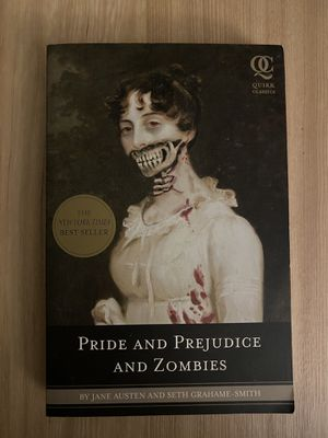 Pride and Prejudice and Zombies Paperback for Sale in Perris, CA