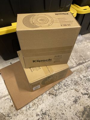 Klipsch Ceiling Speakers - Pair - Never Installed. for Sale in Tacoma, WA