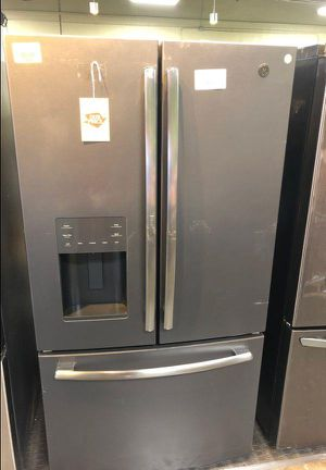 $$$Brand New GE 25.6 cu. ft. French-Door Refrigerator in Black Slate, Fingerprint Resistant and ENERGY STAR$$$ 1T76 for Sale in Ontario, CA