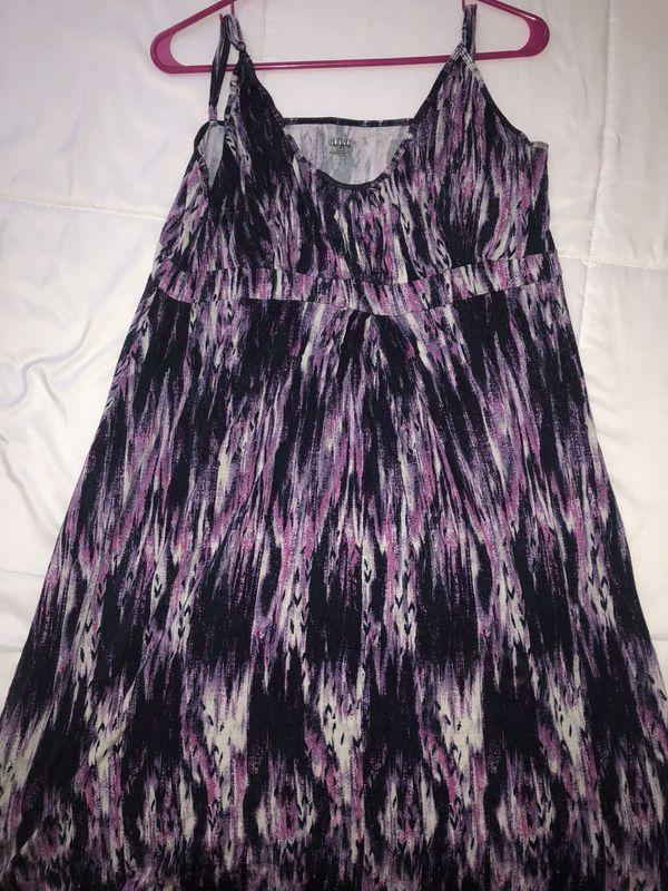 Maxi Dress - A.N.A size XL
