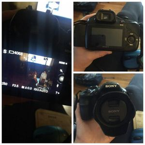 Sony professional camera for Sale in Greensburg, PA