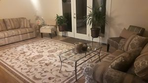 Like New ---- 15 piece Living Room Set (sofa/loveseat...) for Sale in Tempe, AZ
