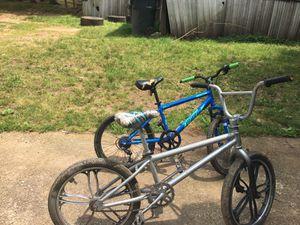 Bmx Mongoose and a bca cross fire 6 speed mountain bike for Sale in Villa Rica, GA