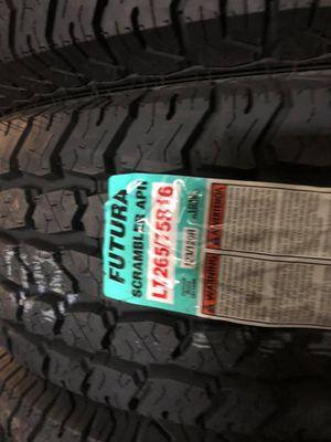 All 4 Brand New Tires 265/75R16Lt 10Ply $399.99 8023 Ferguson Rd Dallas Tx 75228 for Sale in Dallas, TX