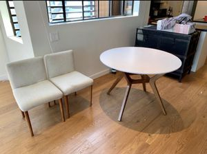 Mid century modern dining table with chairs for Sale in Sunnyvale, CA