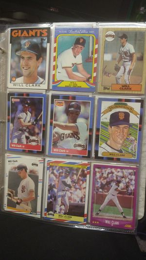 Baseball card collection Make me an offer for Sale in Los Gatos, CA