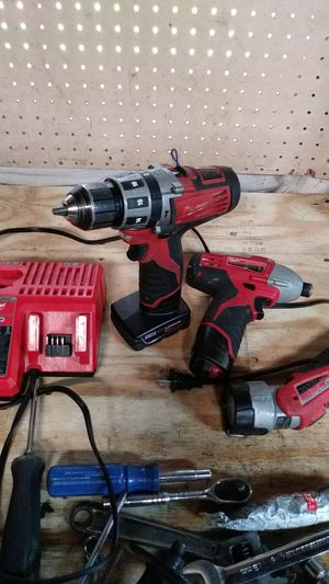 Nice conditions set of drills an light.. for Sale in York, PA