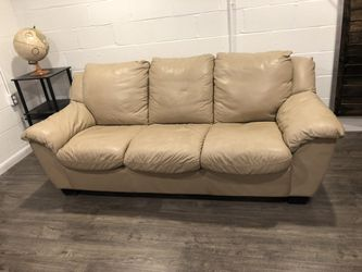 Leather Sleeper Sofa for Sale in Highland Heights,  OH
