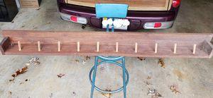 Solid wood, long coat rack. for Sale in Palmyra, VA