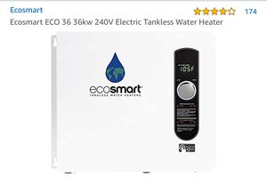 Ecosmart Eco 36 Electric Tankless Water Heater for Sale in Miami, FL