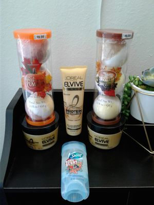 Loreal hair conditioner treatment, Secret deodorant and bathbombs. All new for $20 for Sale in Everett, WA