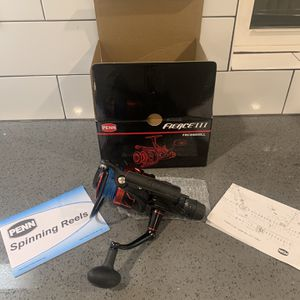 Pen Fierce 3 Fly liner 6000 Spinning Reel for Sale in Rancho Cucamonga, CA