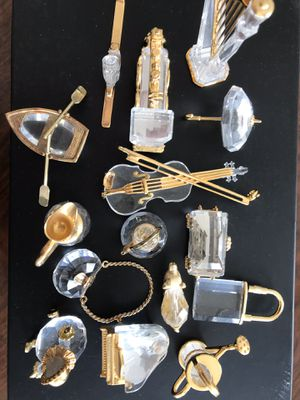 Mini Crystal Gold Collectables - $6-10 Each for Sale in Washington, DC