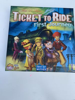 Ticket to ride First Journey for Sale in Tigard, OR