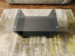 Glass center coffee table for Sale in West Laurel, MD