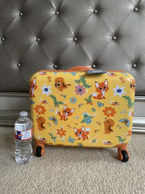 Brand new Authentic Disney fox kids travel luggage bag for Sale in Garland, TX