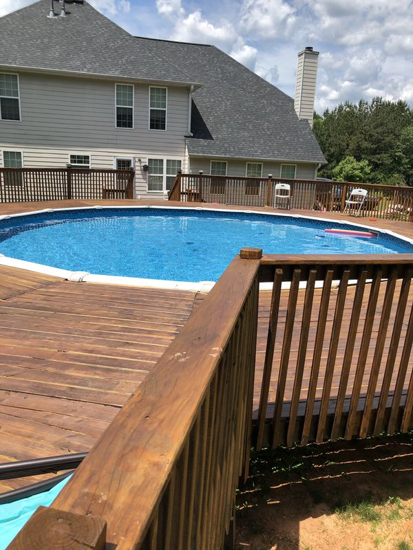 Beautiful strong deck for the best price.
