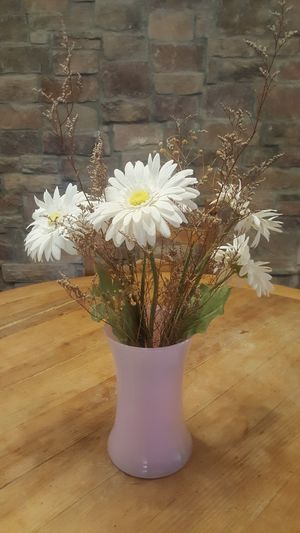 Decorative vase with artificial flowers for Sale in Chandler, AZ
